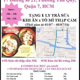 Khai trương mì cay mua 1 tặng 1 của trang91 tại 17 Số 21, Tân Quy, Quận 7, Hồ Chí Minh - 509708
