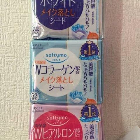 Khăn Giấy ướt Tẩy Trang Kose Softymo Nhật Bản Tại 40 Yersin P