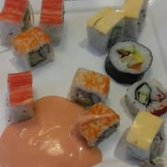 Kimpap,sushi của Đinh Hân tại Seoul Garden - Buffet Lẩu & Nướng - Nam Kỳ Khởi Nghĩa - 1465730