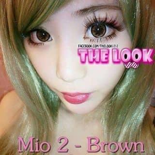 Kính áp giãn tròng - Mio 2 Brown Contact Lens của jennykc9x tại Hải Phòng - 3841100