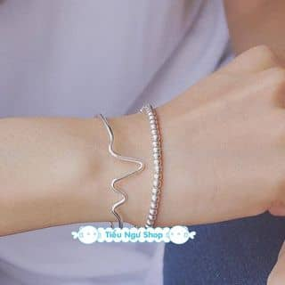 Lắc tay bạc 925 cao cấp của littlefish tại  A6.8.11 Chung cư Ehome3, 103 Hồ Học Lãm, An Lạc, Quận Bình Tân, Hồ Chí Minh - 495903