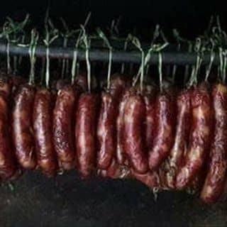 lạp sườn lợn đen treo gác bếp của nhunghuou2 tại Hà Giang - 2399121