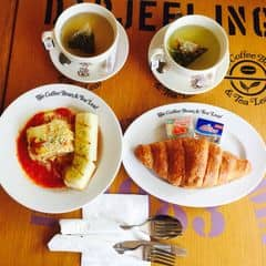 Lasagna + Croissant + Jasmine Tea + Genmaicha GreenTea của Lily Nguyen tại The Coffee Bean & Tea Leaf - CMT8 - 1265737