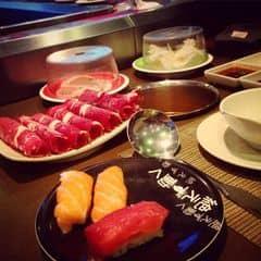 #happykichi - Người yêu cứ đòi ăn kichi miết, mình cũng phải chiều, giờ thì hiểu sao ghiền rồi đó, giờ 2 đứa mê tít kichi luôn. Sushi ở đây cứ tưởng chán lắm, vì là đồ trên line, ai dè ngon cực, cá rất tươi nhé. Bò thì chủ đạo ở đây rồi, tuyệt vời 😅😅😅. Sẽ thường xuyên ăn kichi nữa nè, lần sau rủ gia đình đi tiếp.