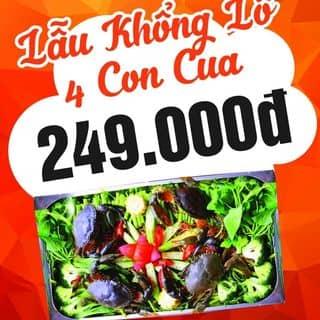 Lẫu khổng lồ 4 con cua chỉ 249k của hoanghung159 tại 134 Nguyễn Thái Học, Phạm Ngũ Lão, Quận 1, Hồ Chí Minh - 4764973