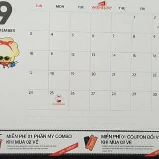 Lịch Khuyến Mãi CGV Cinemas của minh180348 tại Hồ Chí Minh - 2262992