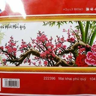 Mai Khai Phú Quý Tranh thêu chữ thập của thugiangpham tại Thành phố Nam Định, Thành Phố Nam Định, Nam Định - 2237072