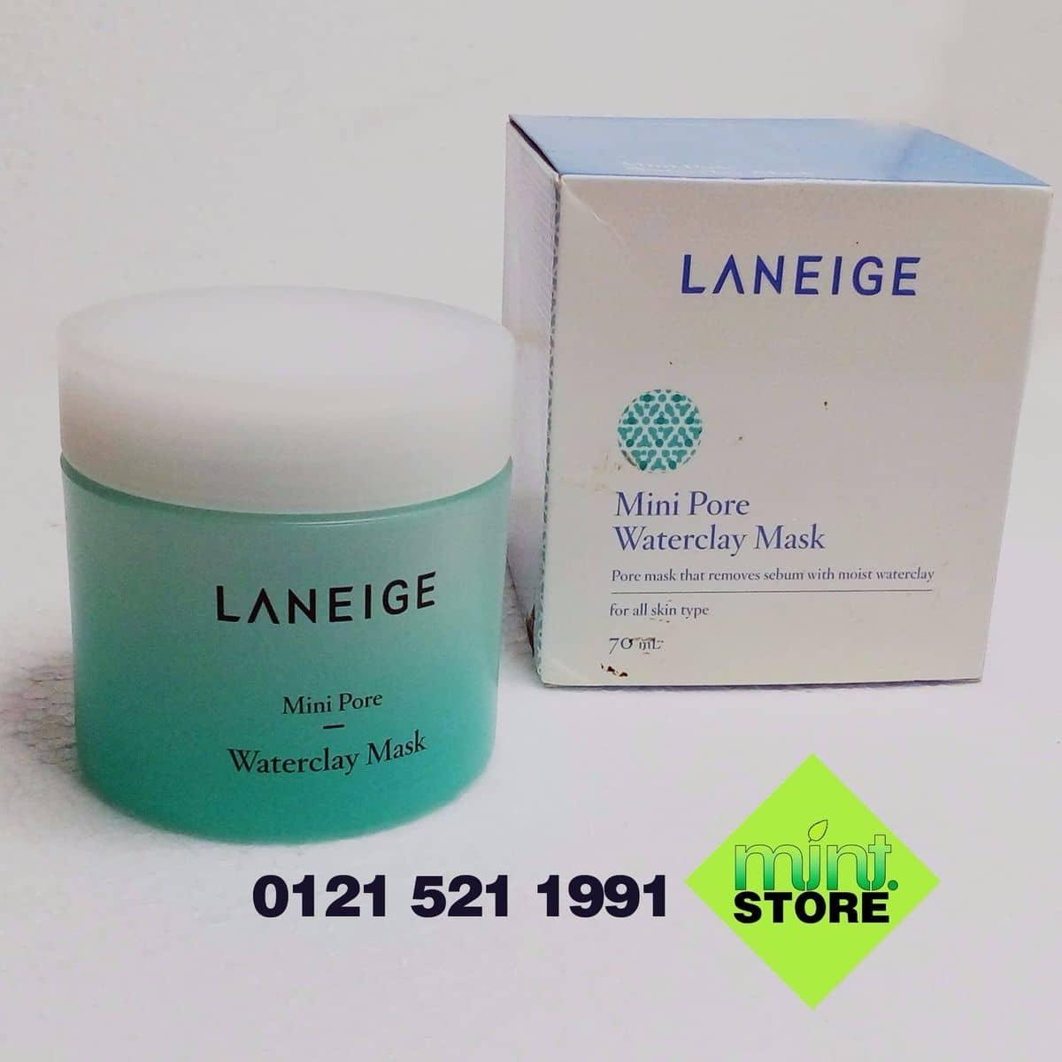 Mt N T St Mini Pore Water Clay Mask 70ml Set 4 Dng M Laneige Wateclay Ti Hi Phng Ca Mintstore Lozi