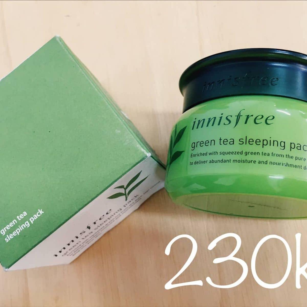 Mt N Ng Tr Xanh Innisfree Green Tea Sleeping Pack Ti Tphcm Ca Pun Nguyen Lozi