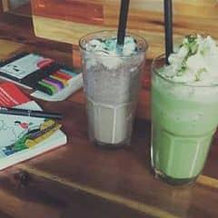Matcha + cookies của Nhi Phượng tại Urban Station Coffee Takeaway - Lý Quốc Sư - 719985