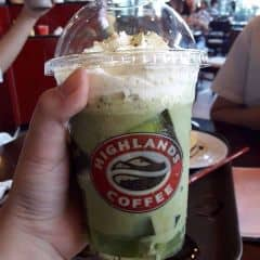 Matcha freeze của Anh Ngọc tại Highlands Coffee - IPH Indochina - 2316329