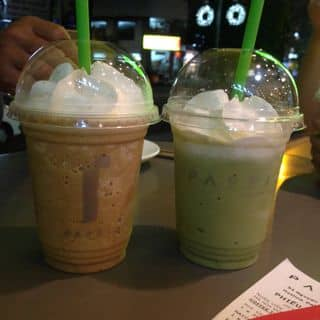 Matcha green tea và passioccino của trinhmyphuong16022001 tại 197 Nguyễn Trãi, Nguyễn Cư Trinh, Quận 1, Hồ Chí Minh - 2109143