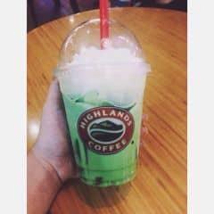 Matcha jelly freeze  của Khánh Linh Hoàng tại Highlands Coffee - Royal City - 1571897