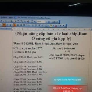 Máy tính của tbilly tại Thừa Thiên Huế - 3264765