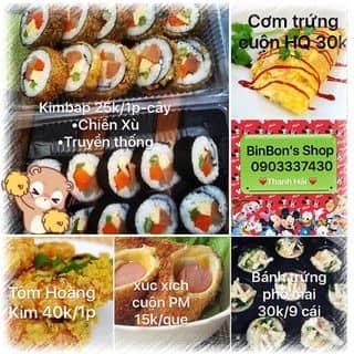 Menu binbon shop  của thanhhaipham9 tại 0903337430, Quận Phú Nhuận, Hồ Chí Minh - 1686758