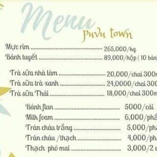 #Menu #PuVutown của puvutown tại Hồ Chí Minh - 2903721
