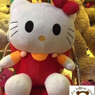 Mèo bông Hello kitty giá rẻ chất lượng 50cm 180 của gaubongxinhshop tại 131 Cù Lao, phường 2, Quận Phú Nhuận, Hồ Chí Minh - 2947121
