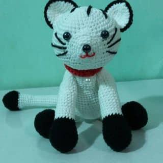 Mèo len handmade ( 20cm) của nangthuytinhkimnhung tại Hậu Giang - 1989859