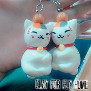 Móc khóa mèo Nyanko-sensei của flylorasky tại 108/42/1 Cách Mạng Tháng Tám, Quận Ninh Kiều, Cần Thơ - 635284