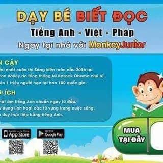 Monkey junior của babysitterhuong tại 36 Hàng Than, Thành Phố Thanh Hóa, Thanh Hóa - 1057777