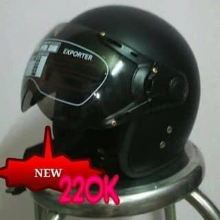 Mũ bảo hiểm 3/4 kính đen trơn của khangky tại Hồ Chí Minh - 2782883
