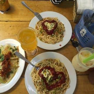 Mỳ spaghetti sốt bò bằm + salad xoài xanh của bibi218 tại 291 Hoàng Văn Thụ, Thành Phố Nam Định, Nam Định - 1715815