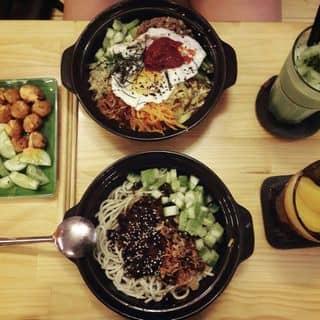 Mỳ tương đen + cơm trộn + gà viên + trà đào + matcha của linhnguyn tại 46 Tú Xương, Phường 4, Thành Phố Vũng Tàu, Bà Rịa - Vũng Tàu - 1235749