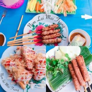 Nem lụi - nem chua nướng - bánh mì muối ớt của nemluimaitrang tại 66 Máy Tơ, Ngô Quyền, Thành Phố Nam Định, Nam Định - 2576197