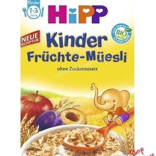 Ngũ Cốc Hipp Müsli Kinder Früchte-Müesli ab 1 Jahr 200gr_Đức của tienthuy184 tại 4 Đô Đốc Lộc, Tân Quý, Quận Tân Phú, Hồ Chí Minh - 2906310