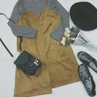 👚Nguyên set  💲chất liệu : áo cotton                         Yếm da lộn 💲350k của tuongquan1 tại Ninh Thuận - 2576615