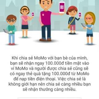 NHẬN NGAY 100k khi liên kết Momo của hienh2 tại Chợ Thiên Lộc, Thành Phố Hà Tĩnh, Hà Tĩnh - 3125159