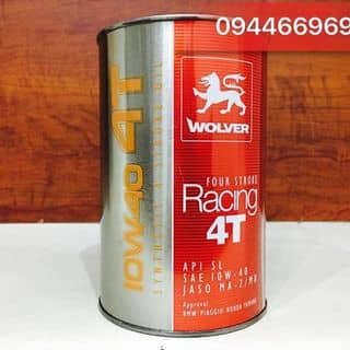 Nhớt Wolver Racing 4T 10W40 tổng hợp 100% của lamngo13 tại Hồ Chí Minh - 2900230