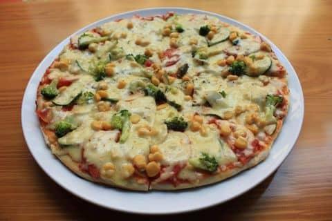 Kết quả hình ảnh cho pizza rau củ