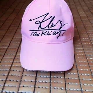 Nón thêu chữ kí Khởi My màu hồng của nguyenthuha89 tại 208 Phan Bội Châu, Thành Phố Quảng Ngãi, Quảng Ngãi - 1460225