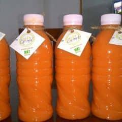 Nước ép cà rốt của Trần Tuấn tại Mát Juice - Đội Cấn - 101017