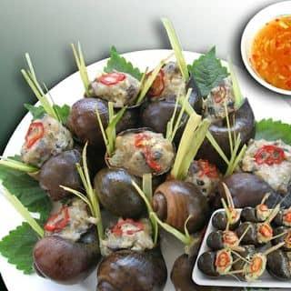 Ốc bươu nhồi hải sản, bánh bao nhân hải sả của vietlam10 tại 908 Tạ Quang Bửu, Quận 8, Hồ Chí Minh - 3136971