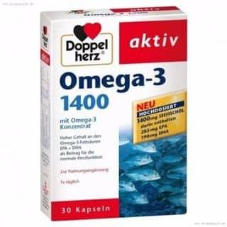 Omega 3 - 1400 mg DoppelHerz Aktiv_Đức của nguyenthuan1413 tại 4 đô đốc lộc, tân quý, tân phú, tphcm, Quận Tân Phú, Hồ Chí Minh - 3012496