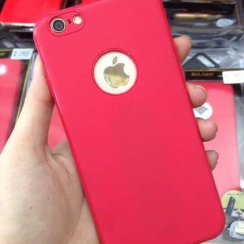 Ốp dẻo màu đỏ cho iPhone - 2976984 kalenashop - 18 hoà bình -p.5-Quận 11 - Hồ Chí Minh