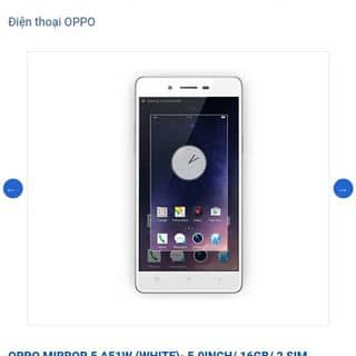 Oppo a51w của tieuiu1 tại Shop online, Huyện Thái Thụy, Thái Bình - 2299954