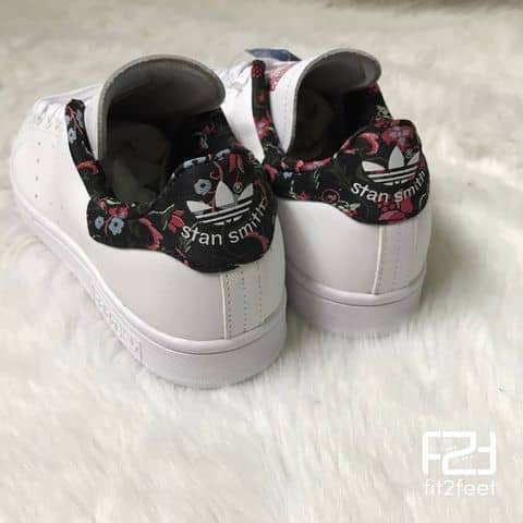 new product 3cbac c9e6f amazon adidas originals stan smith floral fc840 9cdcb