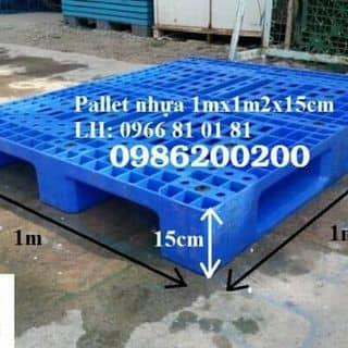 PALLET NHỰA MỚI >90% SALE XẢ HÀNG  của phuongtran309 tại Bà Rịa - Vũng Tàu - 2012821