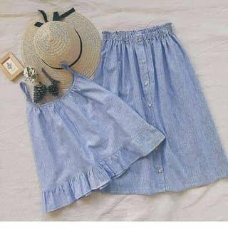 Pas set áo+ váy mua của Hersclothes, hàng New 100% chưa mặc lần nào, có tách set của tretron tại Hồ Chí Minh - 3183093