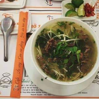 Phở bò áp chảo  của ukissandnuest tại 6 Bến Ngự, Phan Đình Phùng, Thành Phố Nam Định, Nam Định - 523661