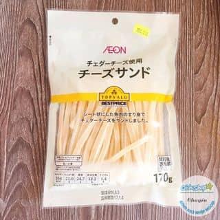 Phô mai sợi Topvalu - AEON Nhật- TOPVALU Taro Cheese Otsumami - Phô mai sợi Nhật của tranbon5 tại Hồ Chí Minh - 1015343