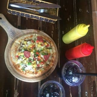 Pizza bò+coca của phamhonghai96 tại 26 Tôn Thất Tùng, Thành Phố Thanh Hóa, Thanh Hóa - 2070612