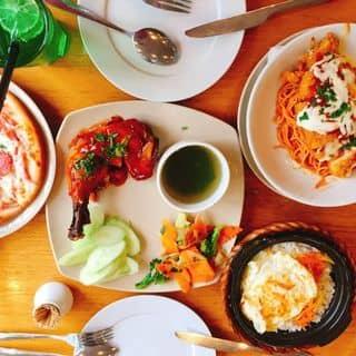 Pizza + mỳ ý + soda bạc hà + cơm niêu Singapo của ngocchekie tại Hồng Quang, Thành Phố Hải Dương, Hải Dương - 3038044