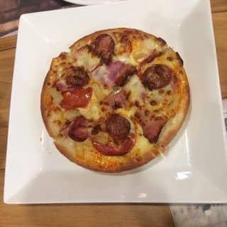 Pizza thịt xông khói + xúc xích + dứa của phuong327 tại Vincom Plaza Việt Trì , Hùng Vương, Thành Phố Việt Trì, Phú Thọ - 2129242