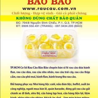 Rau Câu Dừa(16 bông)-Rau Câu Bảo Bảo của raucaubaobao tại 203/18/23 Lạc Long Quân, P.3, Q.11, Quận 1, Hồ Chí Minh - 3174764