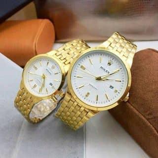 Rolex couple Size 38-28mm nhôm đặc bền màu.  🔎747814 ✔Sỉ: 275k/1 của mymynguyen35 tại Hậu Giang - 3143738
