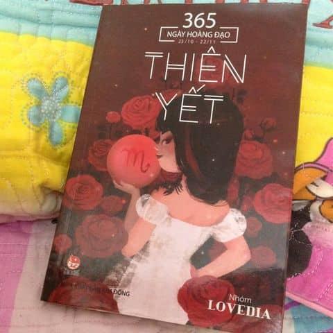 Sách 365 ngày hoàng đạo:THIÊN YẾT - 3346788 baotrang6a - Hà Nội - Hà
